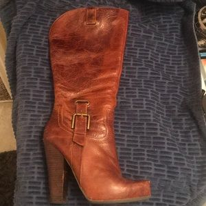 Shoes - Jessica Simpson leather boots